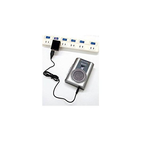 ラジカセ コンパクト レトロ 録音 カセットテープ テープ カセット グッドラジカセ FMラジオ マイク付き カラオケ 録音 備忘録 携帯カセットプレーヤー|wide|04
