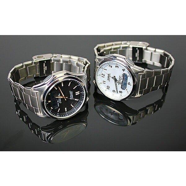 腕時計 メンズ 電波ソーラー カシオ アナログ 薄型 見やすい おしゃれ 男性用 紳士 日付 曜日 軽い 薄い ブランド CASIO じゅん散歩 ロッピング|wide|09