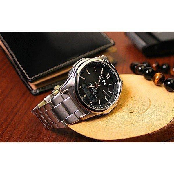 腕時計 メンズ 電波ソーラー カシオ アナログ 薄型 見やすい おしゃれ 男性用 紳士 日付 曜日 軽い 薄い ブランド CASIO プレゼント 父の日|wide|10