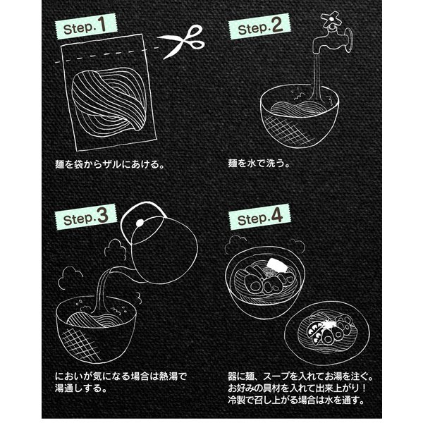 こんにゃくラーメン 蒟蒻ラーメン こんにゃく麺 24食セット ダイエット食品  置き換え 満腹 糖質制限ダイエット 糖質制限 ローカロリー wide 10