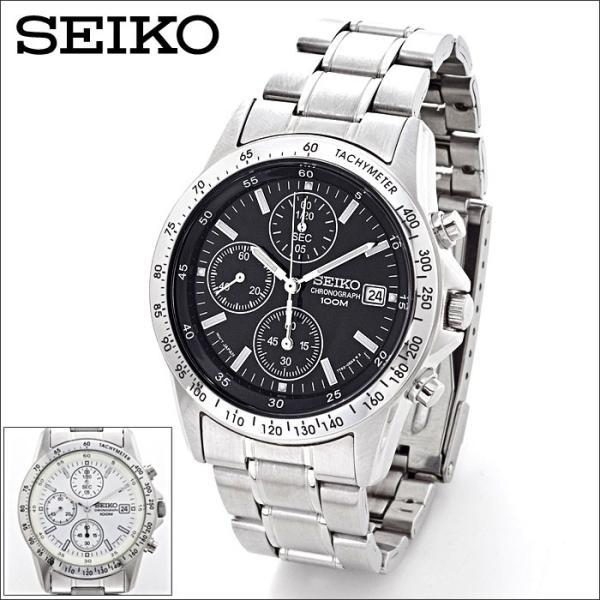 セイコー 腕時計 クロノグラフ メンズ腕時計 逆輸入 プレゼント 誕生日 ギフト セイコー腕時計 SND アナログ クォーツ 防水 10気圧防水 ストップウォッチ SEIKO|wide