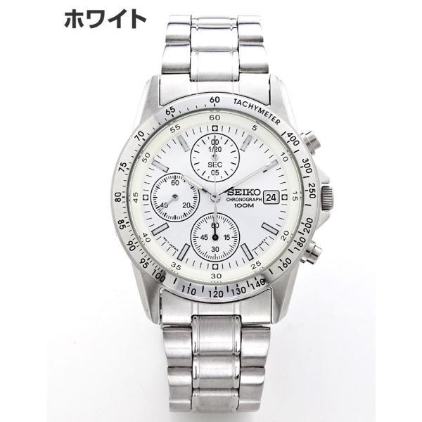 セイコー 腕時計 クロノグラフ メンズ腕時計 逆輸入 プレゼント 誕生日 ギフト セイコー腕時計 SND アナログ クォーツ 防水 10気圧防水 ストップウォッチ SEIKO|wide|05
