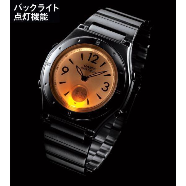 ソーラー電波腕時計 レディース カシオ おしゃれ バックライト メタルバンド 軽量 軽い 薄型 薄い 女性用 電波ソーラー腕時計 婦人用 ブランド カシオ腕時計|wide|05