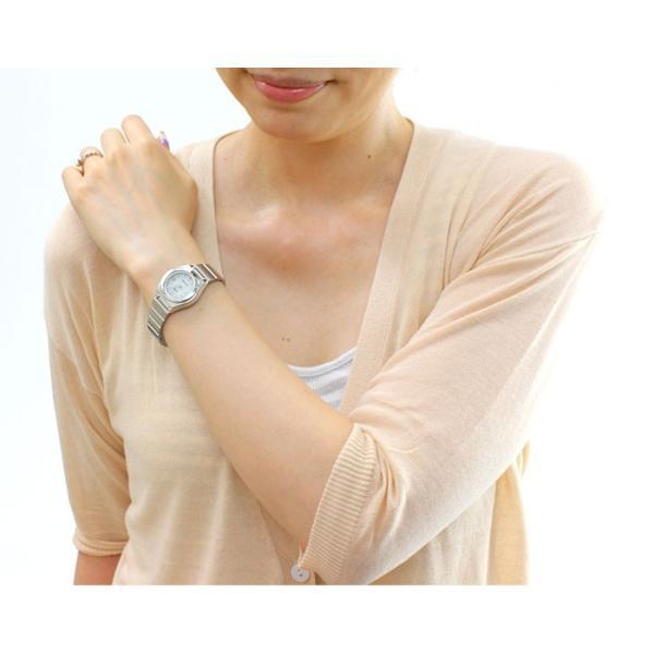 腕時計 レディース 電波ソーラー 薄型 アナログ 見やすい おしゃれ 女性用 社会人 婦人 カシオ腕時計 薄い 軽い 細い 電波時計 ブランド CASIO|wide|02
