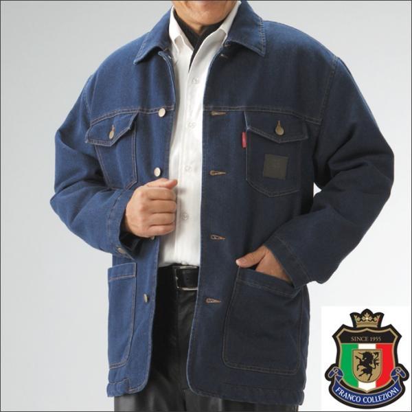 アウター 冬物 冬 暖かい デニムジャケット メンズ ボア ボア付き ボアデニムジャケット 男性用 紳士服 あたたかい コート ジャケット ジャンバー|wide|02
