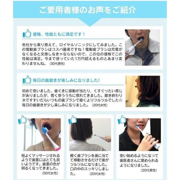 電動歯ブラシ 本体 音波歯ブラシ 充電式 替えブラシ 2本セット 口臭対策 虫歯予防 おすすめ 電動音波歯ブラシ 使いやすい つるつる 白い歯 軽い コンパクト|wide|11