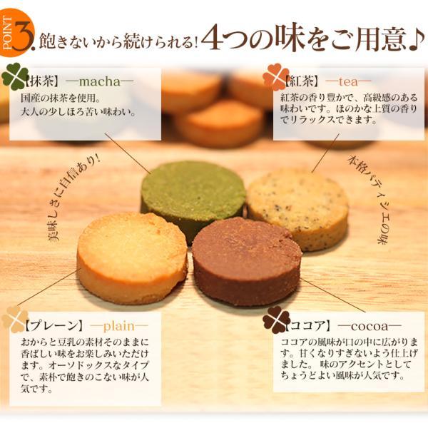 ダイエット食品 おからクッキー 1kg 小麦粉不使用 砂糖不使用 グルテンフリー 糖質制限 訳あり 国産 4種 1kg|wide|06