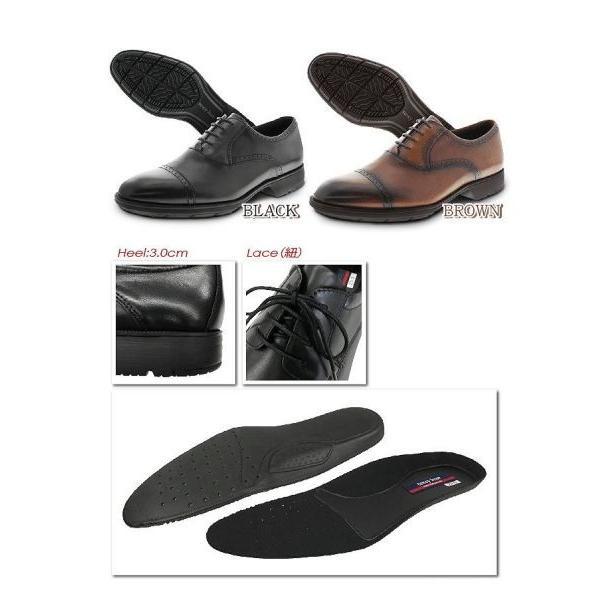 スニーカー 靴 テクシーリュクス ビジネスシューズ メンズ 革 レザー 通勤 仕事靴 黒 茶色 革靴 ストレートチップ 紐靴 歩きやすい 軽量 抗菌 防臭 texcyluxe|wide|03