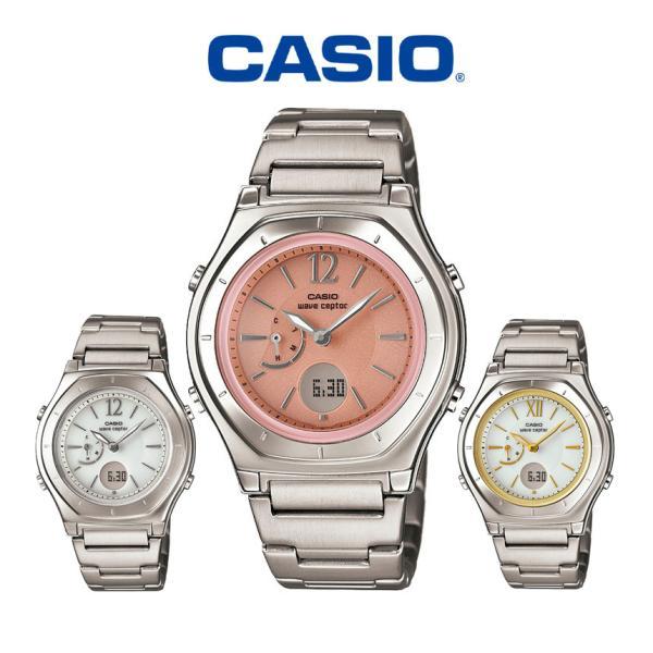 カシオ電波ソーラーレディース腕時計