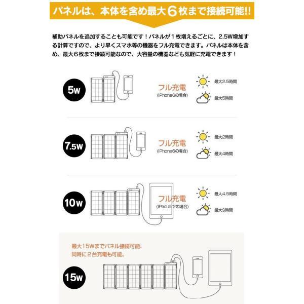 ソーラー充電器 スマホ ソーラーバッテリー YOLK ヨーク ソーラーペーパー 5w 本体 ソーラーパネル 薄い 2mm 薄型 スマホ 持ち運び 停電対策|wide|07