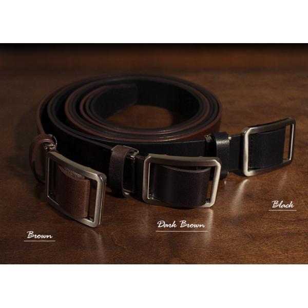 無段階調整 ベルト メンズ 穴なし 穴無し 幅広 無調整 無段階 紳士 男性 ブラック ブラウン スライド式 本革 レザー 黒 茶色 77405-20 wide 06