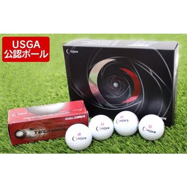 ゴルフボール 1ダース 飛ぶゴルフボール 新品 ゴルフ用品 公認球 白 ホワイト 中空金属コアボール 12個セット OnCore 中空コア 慣性 飛ぶ USGA公認ボール 高反発|wide|03