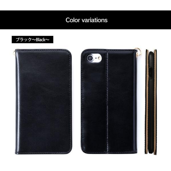スマホケース 手帳型 iPhone8 iPhone7 本革 レザー 革 ケース おしゃれ マグネット プレゼント|wide|12