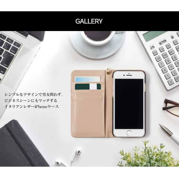 スマホケース 手帳型 iPhone8 iPhone7 本革 レザー 革 ケース おしゃれ マグネット プレゼント|wide|10