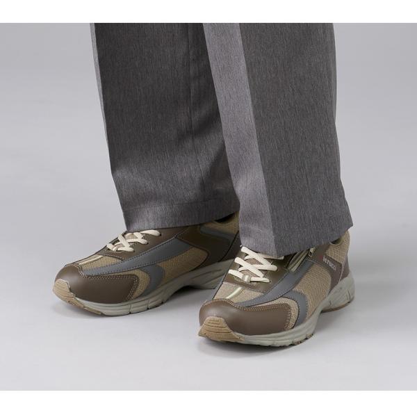 靴 メンズ 歩きやすい 紳士靴 カジュアルシューズ 4E 幅広 スニーカー おしゃれ ピエルッチ ウォーキングシューズ 2色組 2足セット 【新聞掲載】|wide|04