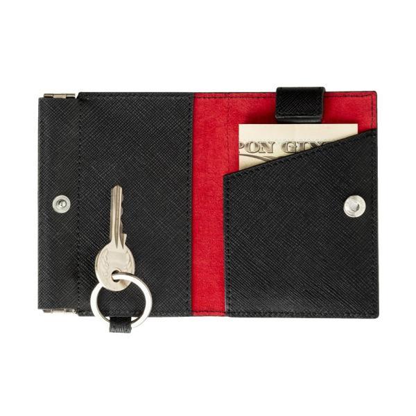 財布 メンズ レディース 二つ折り 小さい財布 革 おしゃれ ブランド コインケース 小さめ 使いやすい 安い キャッシュレス 札入れ バレンタイン ミニ財布|wide|04
