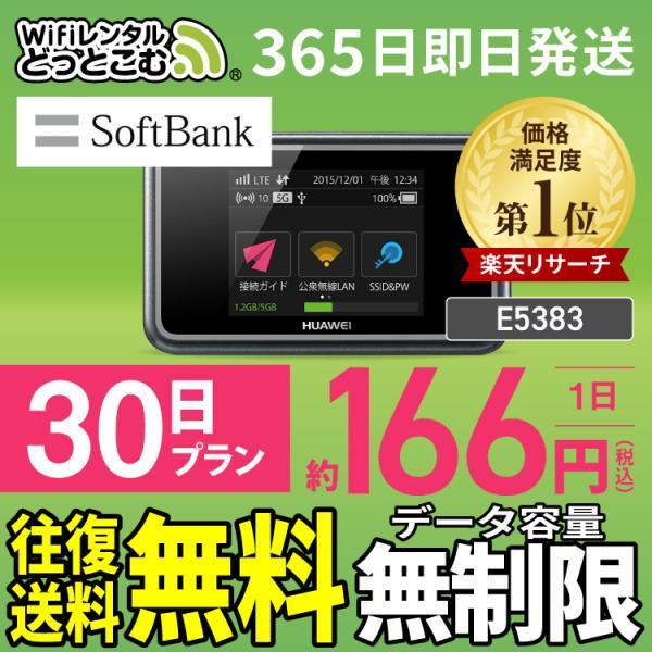 wifi レンタル 無制限 30日 wifi ルーター ポケットwifi モバイルwi-fi ソフトバンク 国内 一時帰国 在宅 テレワーク 往復送料無料の画像