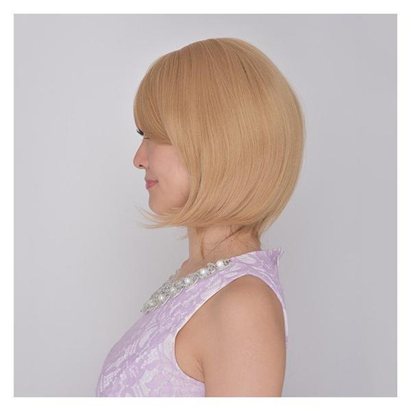 ウィッグ ミディアムストレートボブ 地毛みたいにリアルな高品質フルウィッグ 【Dula】 【大人気】【送料無料】