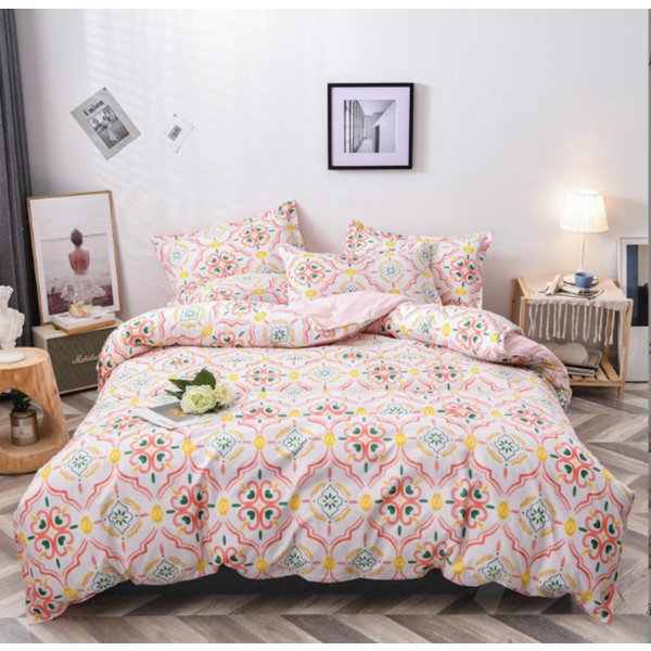 シングル サイズ ベッド シーツ 枕カバー 三点 3点セット フラミンゴ サボテン モンステラ ユニコーン 鹿 北欧 柄 ベットフラット 布団カバー 枕カバーセット|wigggy|06