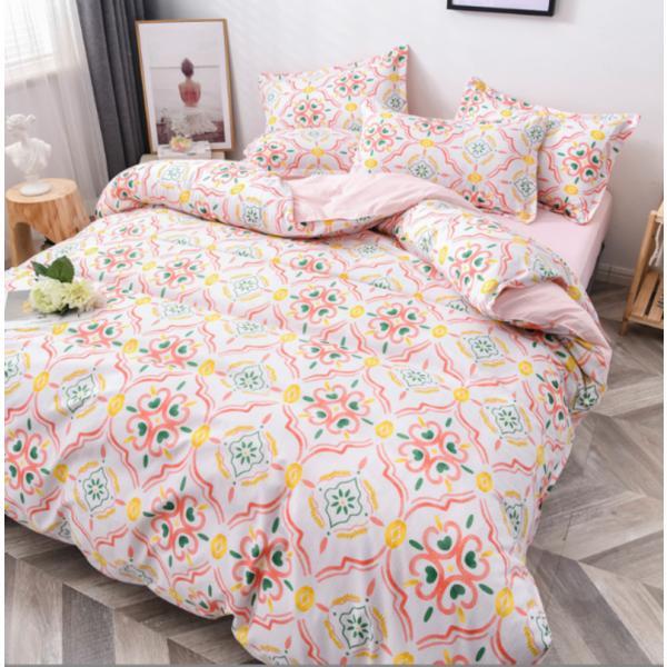 シングル サイズ ベッド シーツ 枕カバー 三点 3点セット フラミンゴ サボテン モンステラ ユニコーン 鹿 北欧 柄 ベットフラット 布団カバー 枕カバーセット|wigggy|07