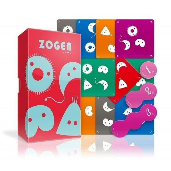 ゾーゲン ゲーム カードゲーム ボードゲーム パーティ 盛り上げ お祝い お誕生日 プレゼント ギフト 贈り物 知育玩具 キッズ 子供|wigland