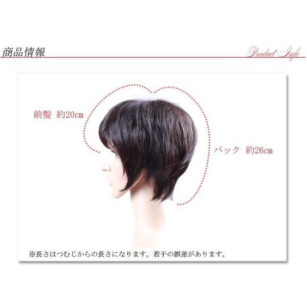 医療用ウィッグ ショート レディース ウィッグ かつら 私元気 IH1002-2|wigshop|14
