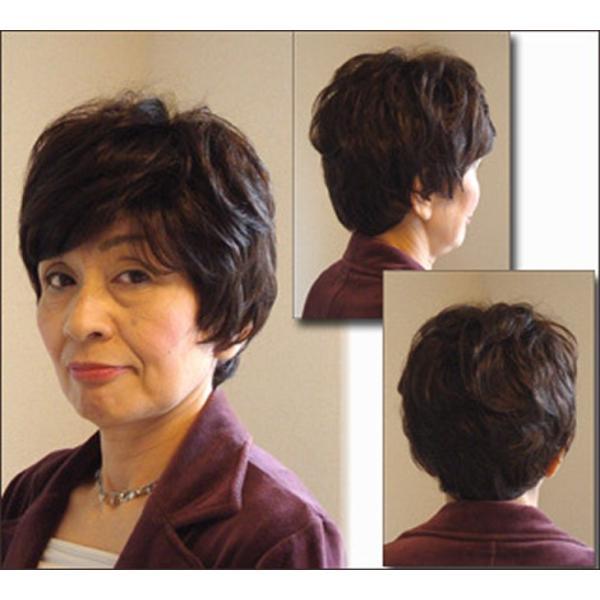 ウィッグ ショート 送料無料 ショートウィッグ ミセス ミセスウィッグ 医療 白髪 かつら tm2 wigwigrunes