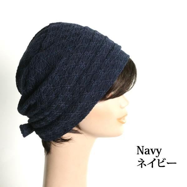 帽子 医療用帽子 レディース 室内帽子 ミセス リボン  抗がん剤治療 人気ランキング常連 ブラック 黒 HB-30 wigwigrunes 05