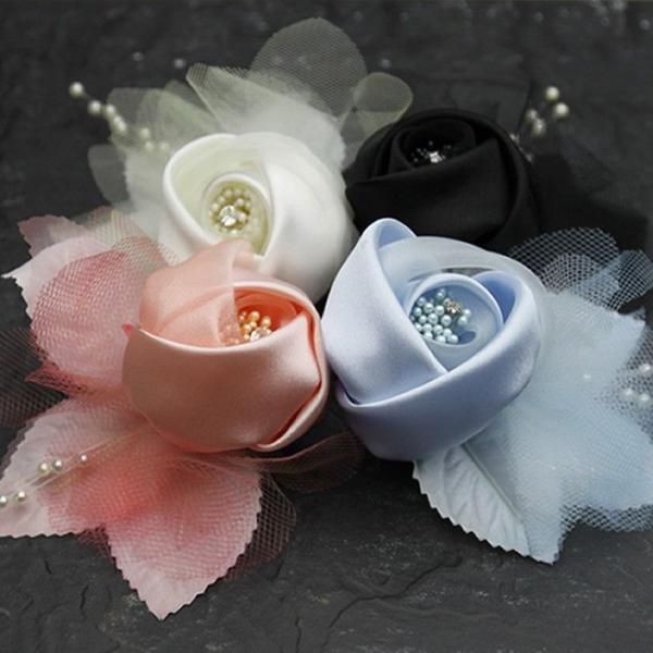 フラワーコサージュ お花 バラ 入学式 結婚式 二次会 ヘアアレンジ KC-50 wigwigrunes 02