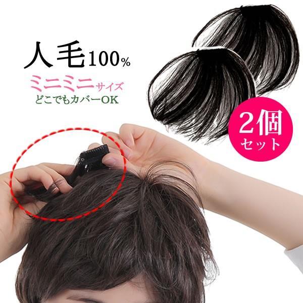 ウィッグ ヘアピース  人毛100% 円形脱毛症 部分ウィッグ かつら 送料無料 メッシュ kz1|wigwigrunes