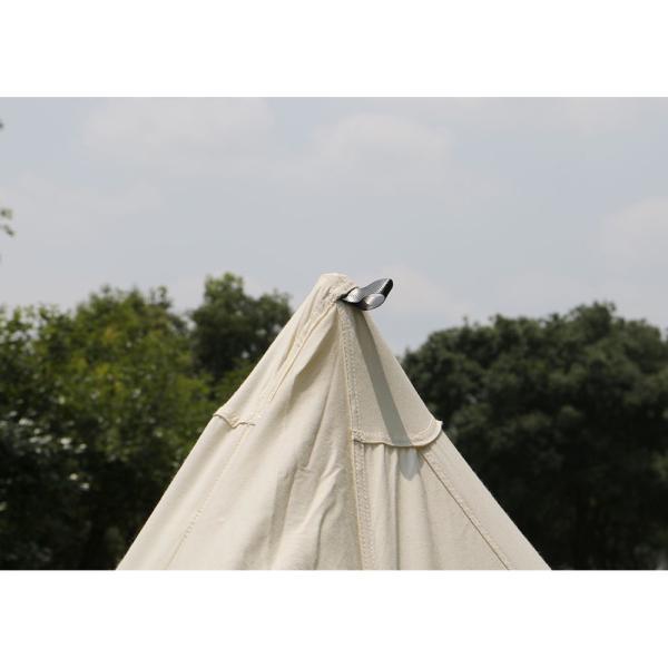 【数量限定特別価格】 tent-Mark DESIGNS (テンマクデザイン) パンダ VC【ワンポールテント】|wild1|07
