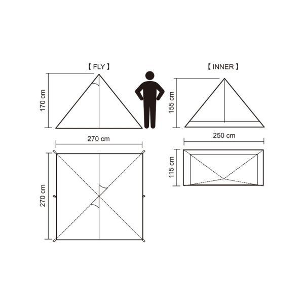 【数量限定特別価格】 tent-Mark DESIGNS (テンマクデザイン) パンダ VC【ワンポールテント】|wild1|10