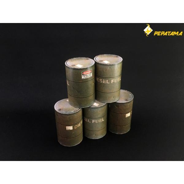 PEPATAMAシリーズ S-002 ペーパージオラマ ドラム缶A 1/12|wild|03