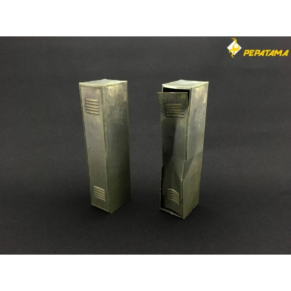 PEPATAMAシリーズ S-009 ペーパージオラマ ロッカーA|wild|07