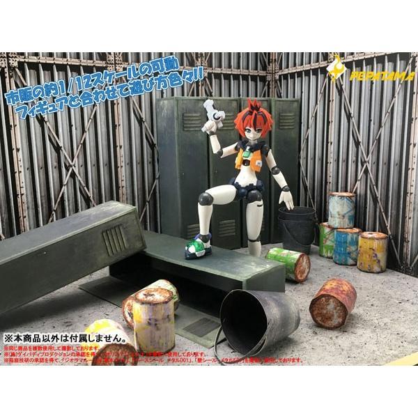 PEPATAMAシリーズ S-009 ペーパージオラマ ロッカーA|wild|09