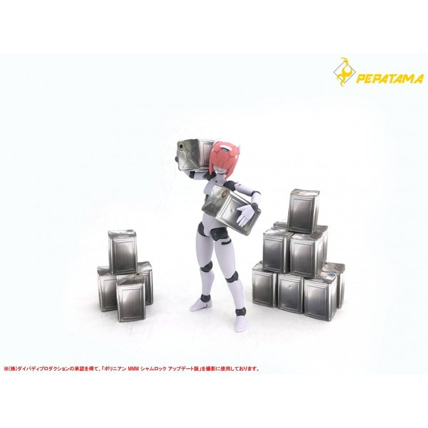 PEPATAMAシリーズ S-010 ペーパージオラマ 一斗缶A 通常Ver. 1/12|wild|05