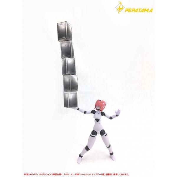 PEPATAMAシリーズ S-010 ペーパージオラマ 一斗缶A 通常Ver. 1/12|wild|07