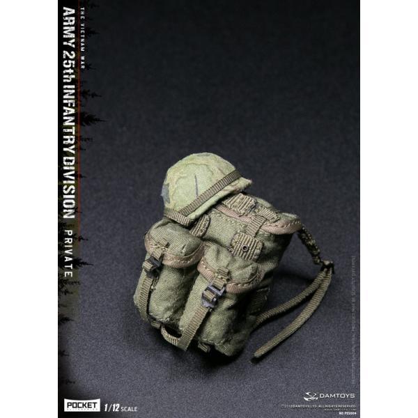 DAMTOYS 1/12 ポケット エリート シリーズ アメリカ軍 第25歩兵師団 ベトナム戦争|wild|14