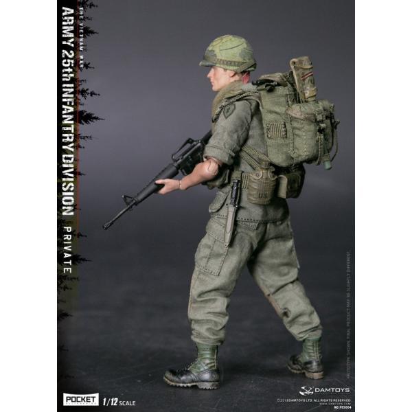DAMTOYS 1/12 ポケット エリート シリーズ アメリカ軍 第25歩兵師団 ベトナム戦争|wild|03