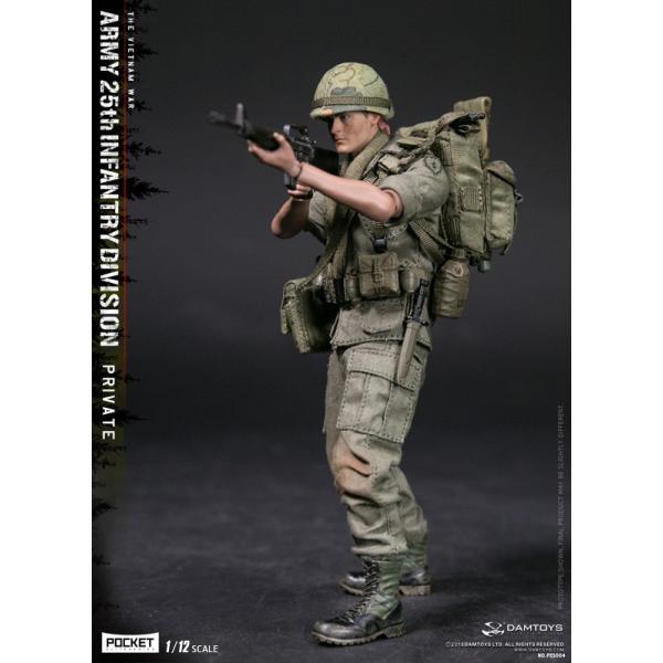 DAMTOYS 1/12 ポケット エリート シリーズ アメリカ軍 第25歩兵師団 ベトナム戦争|wild|04