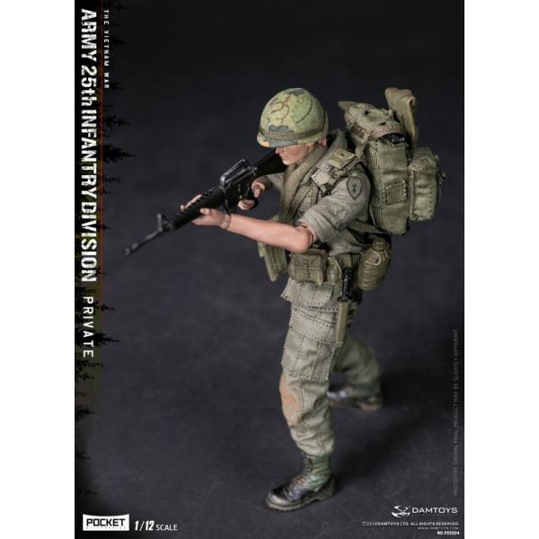 DAMTOYS 1/12 ポケット エリート シリーズ アメリカ軍 第25歩兵師団 ベトナム戦争|wild|05