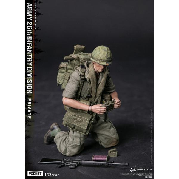 DAMTOYS 1/12 ポケット エリート シリーズ アメリカ軍 第25歩兵師団 ベトナム戦争|wild|06