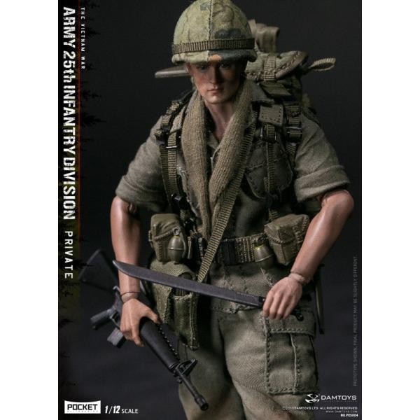 DAMTOYS 1/12 ポケット エリート シリーズ アメリカ軍 第25歩兵師団 ベトナム戦争|wild|07