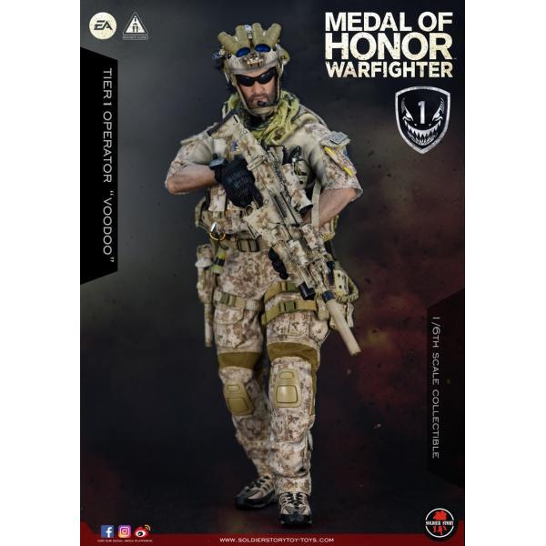 Soldier Story SS106 1/6スケール可動フィギュア メダル・オブ・オナー ウォーファイター ネイビーシールズ ブードゥー|wild