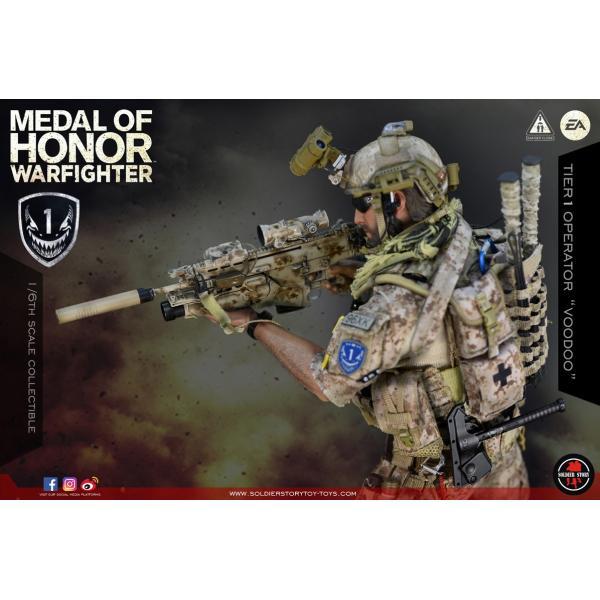 Soldier Story SS106 1/6スケール可動フィギュア メダル・オブ・オナー ウォーファイター ネイビーシールズ ブードゥー|wild|02