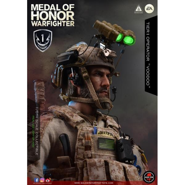 Soldier Story SS106 1/6スケール可動フィギュア メダル・オブ・オナー ウォーファイター ネイビーシールズ ブードゥー|wild|11