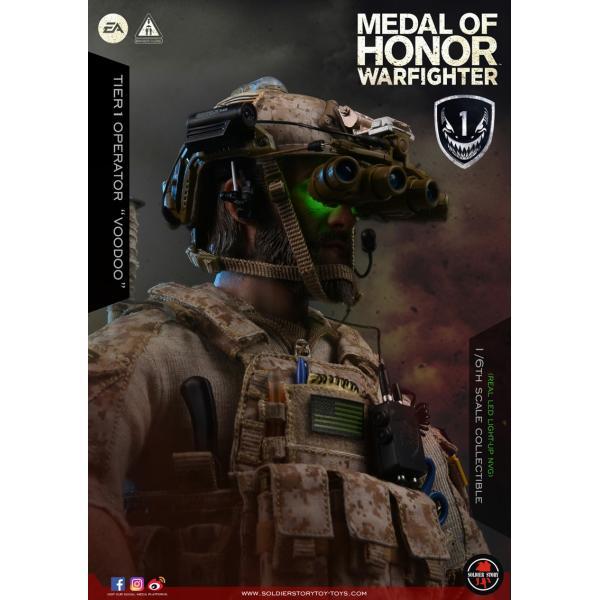 Soldier Story SS106 1/6スケール可動フィギュア メダル・オブ・オナー ウォーファイター ネイビーシールズ ブードゥー|wild|12