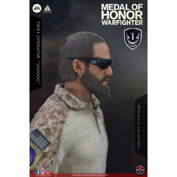 Soldier Story SS106 1/6スケール可動フィギュア メダル・オブ・オナー ウォーファイター ネイビーシールズ ブードゥー|wild|17