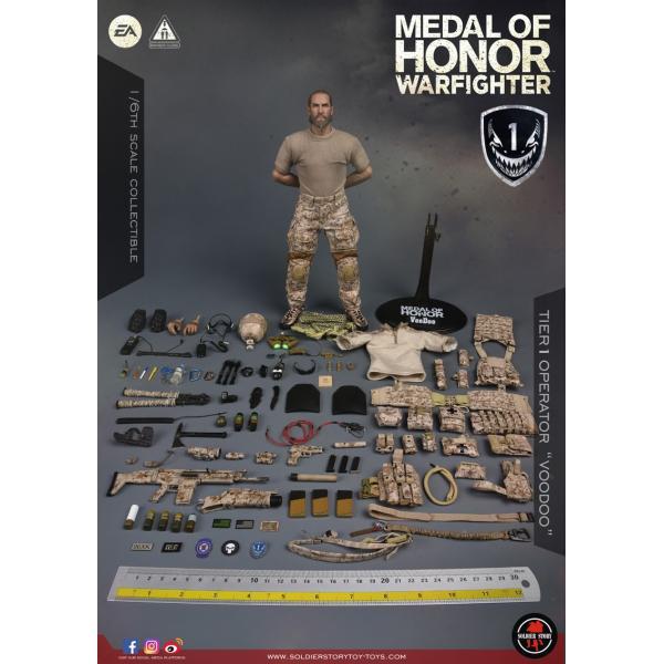 Soldier Story SS106 1/6スケール可動フィギュア メダル・オブ・オナー ウォーファイター ネイビーシールズ ブードゥー|wild|18