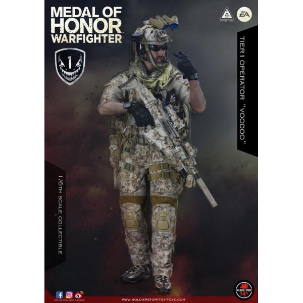 Soldier Story SS106 1/6スケール可動フィギュア メダル・オブ・オナー ウォーファイター ネイビーシールズ ブードゥー|wild|03